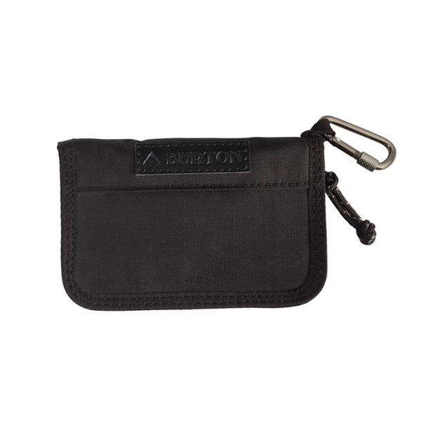 [버튼]BURTON - JPN ZIP PASS WALLET (TRUE BLACK) 버튼코리아 정품