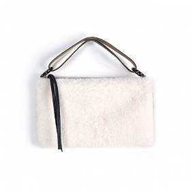 [스페로네]STRAIN COLOR BLOCK BAG(GRAY & WHITE)