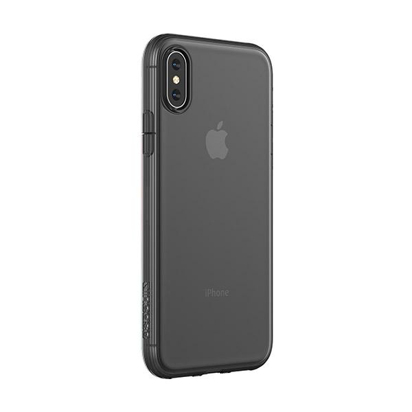 [노트 볼펜 증정][인케이스]INCASE - Protective Clear Cover for iPhone Xs INPH210554-BLK (Black) 인케이스코리아정품