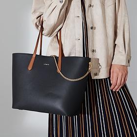 라페스틴 - Cordialement Shoulder Bag - B180307LF 여성 소가죽 토트백