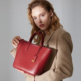 라페스틴 - Entrainement Shoulder Bag - B180305LF 데일리 소가죽 토트백