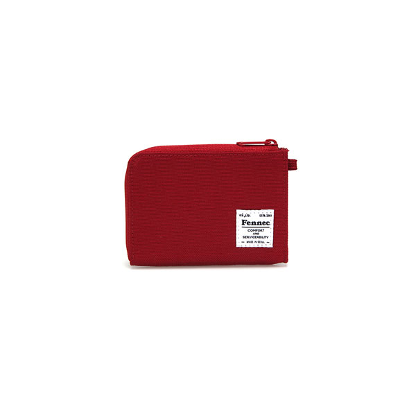 [페넥]FENNEC C&S MINI WALLET - SMOKE RED 미니 카드지갑