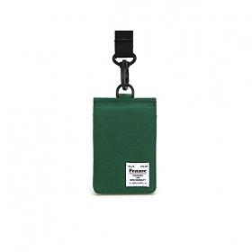 [페넥]FENNEC C&S CARD POCKET - GREEN 목걸이 카드지갑
