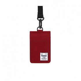 [페넥]FENNEC C&S CARD POCKET - SMOKE RED 목걸이 카드지갑