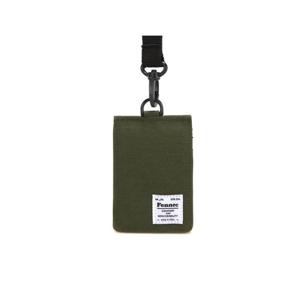 [페넥]FENNEC C&S CARD POCKET - KHAKI 목걸이 카드지갑
