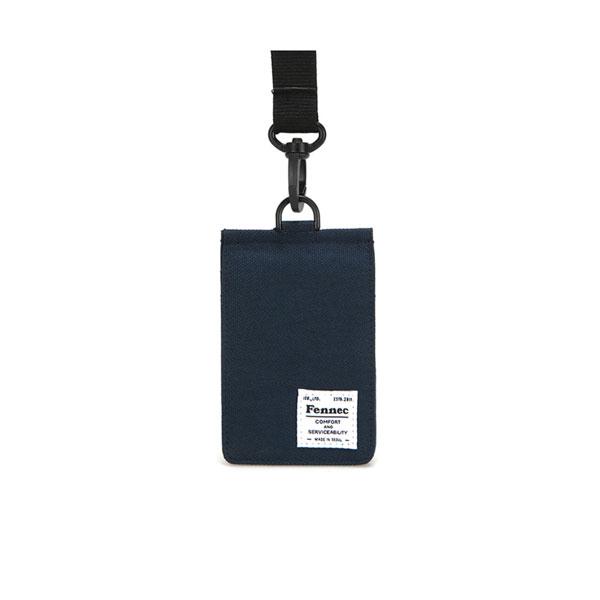 [페넥]FENNEC C&S CARD POCKET - NAVY 목걸이 카드지갑