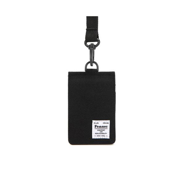 [페넥]FENNEC C&S CARD POCKET - BLACK 목걸이 카드지갑