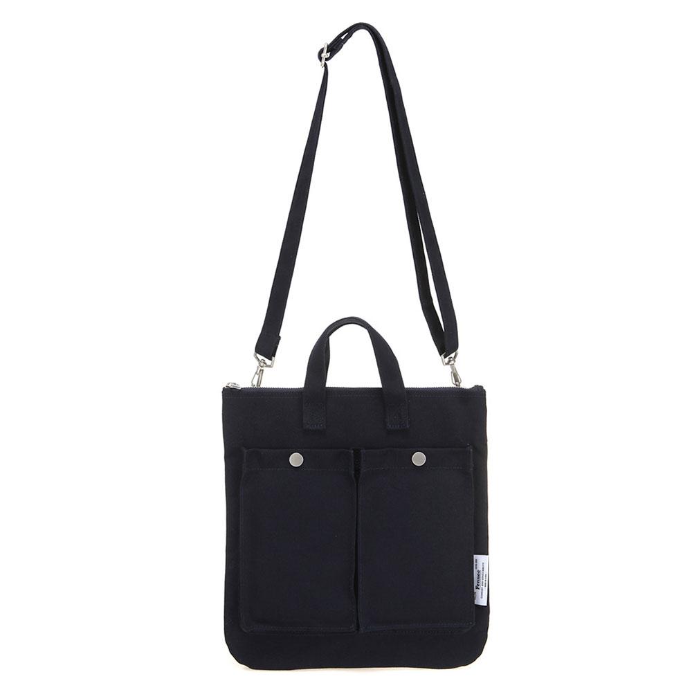 [페넥]Fennec C&S Pocket Bag - Navy 포켓 백 토트백 숄더백 크로스백