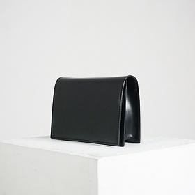 [에크루]ECRU - 미니 스퀘어 백 - 블랙 크로스백