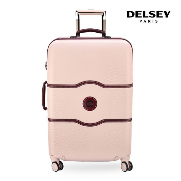 [델시]DELSEY - 샤틀렛 27인치 CHATELET 69 4DW TROLLEY CASE[0.12] 00167081019 (PINK) 화물용 캐리어