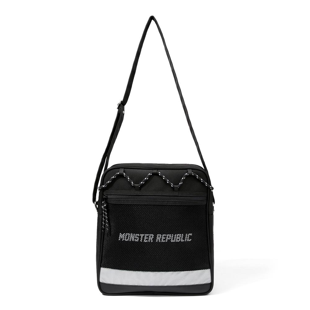 [몬스터 리퍼블릭][사은품 키링 증정/구매후기 지갑증정] MAX WHITE CROSS BAG #001 크로스백