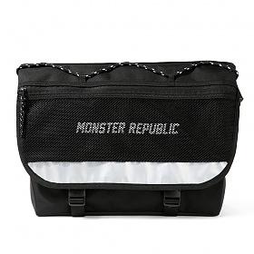 [몬스터 리퍼블릭][구매후기 지갑증정] MAX WHITE MESSENGER BAG 메신저백