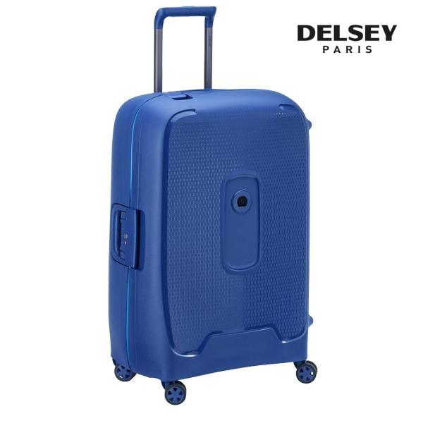 프랑스 명품 캐리어[델시]DELSEY - 몽시 26인치 (Blue) 수화물 경량 프레임