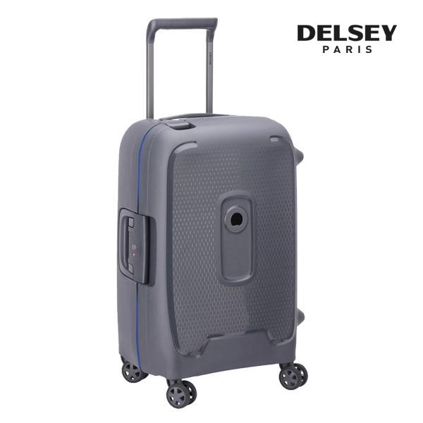 프랑스 명품 캐리어[델시]DELSEY - 몽시 20인치 (Grey) 기내용 경량 프레임 하드캐리어