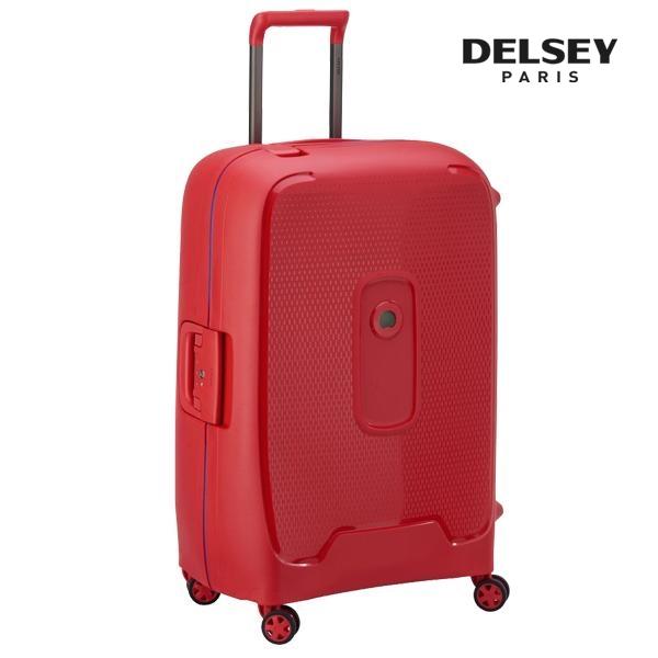 프랑스 명품 캐리어[델시]DELSEY - 몽시 26인치 (Red Stars) 수화물 경량 프레임 하드캐리어