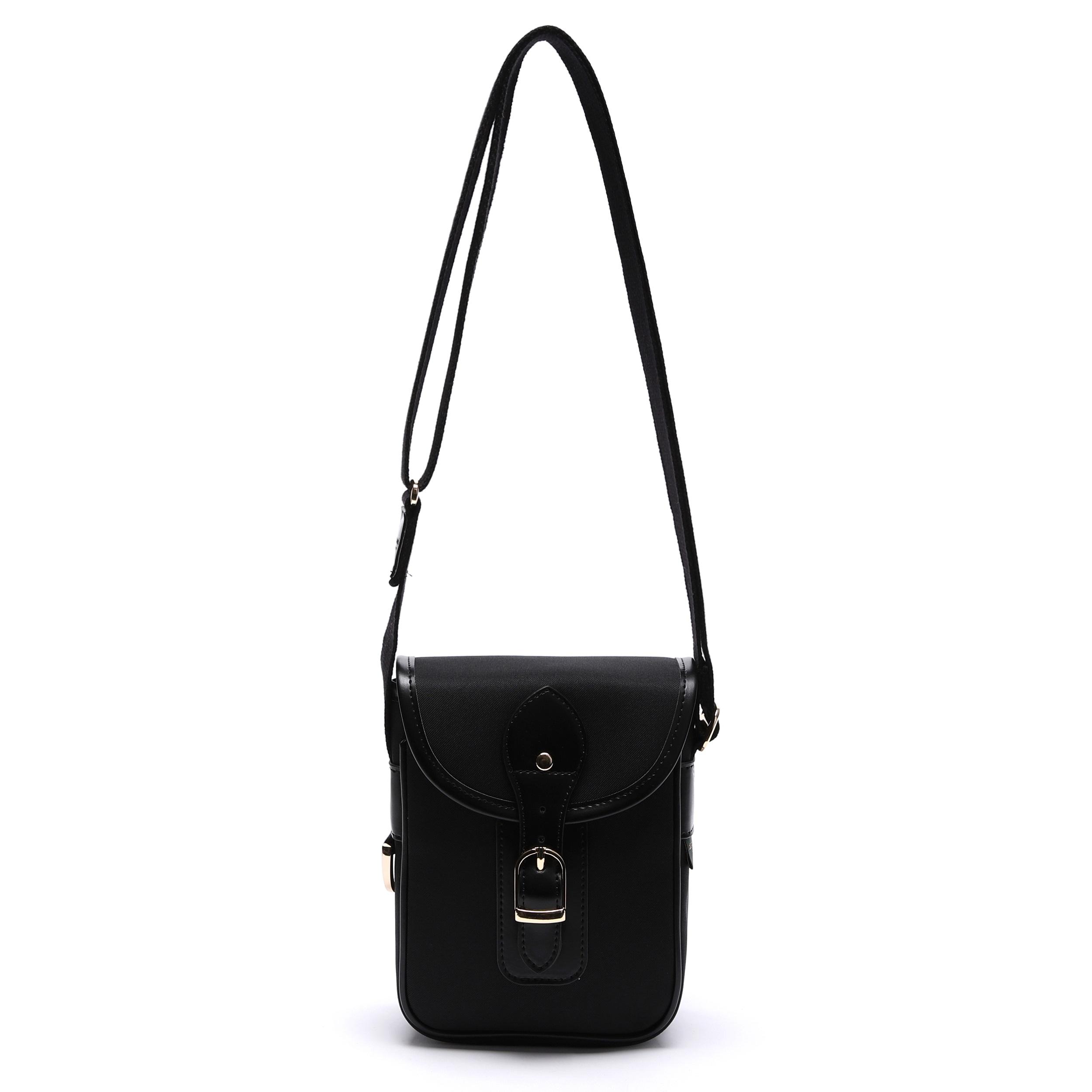 아날로그무드 다이어리 크로스백 (블랙) 카메라 숄더백 아메카지 가방