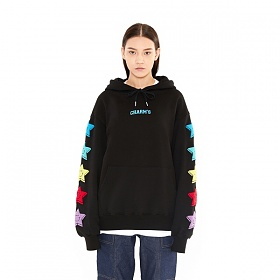 [참스] CHARMS SIDE PATCH LOGO HOODY BK 후드 후디