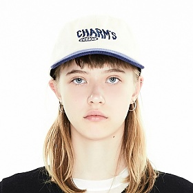 [참스] CHARMS TWO TONE LETTERING LOGO CAP NV 볼캡 야구모자