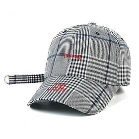 STIGMA - BrTW BASEBALL CAP GLEN CHECK 야구모자 볼캡