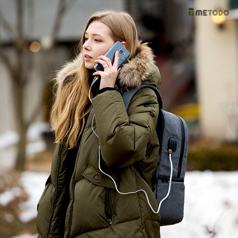 미토도 백팩 도난방지 배낭 RFID차단 여행가방 TSL-205 ver.2 백팩