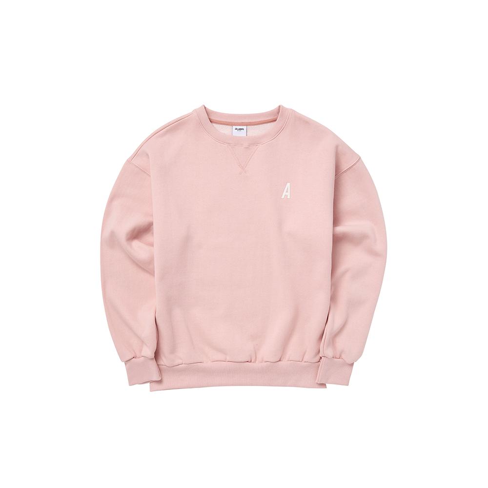 [에이라벨] 맨투맨 핑크