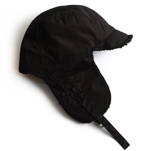 (기리보이 착용)[슬리피슬립]SLEEPYSLIP - [unisex]F/W REVERSIBLE SATIN TROOPER HAT BLACK 트루퍼햇 털모자