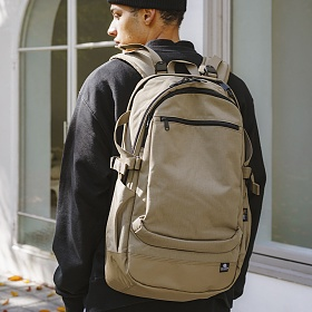 [디얼스]THE EARTH - WASHED CORDURA 28L BACKPACK - BEIGE 코듀라 백팩