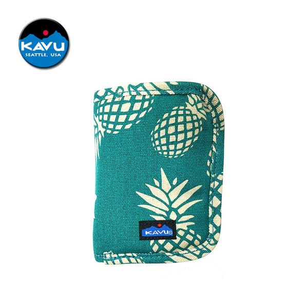 [카부] 지피 월렛 지갑 - Pineapple Passion