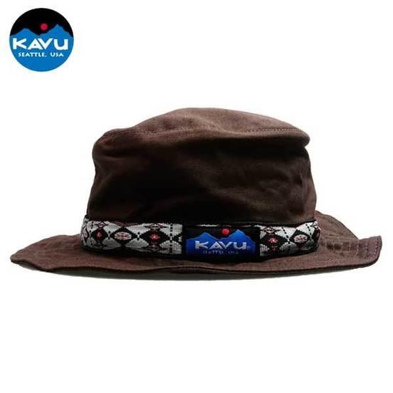 [카부] 스트랩버킷 모자 - Chocolate