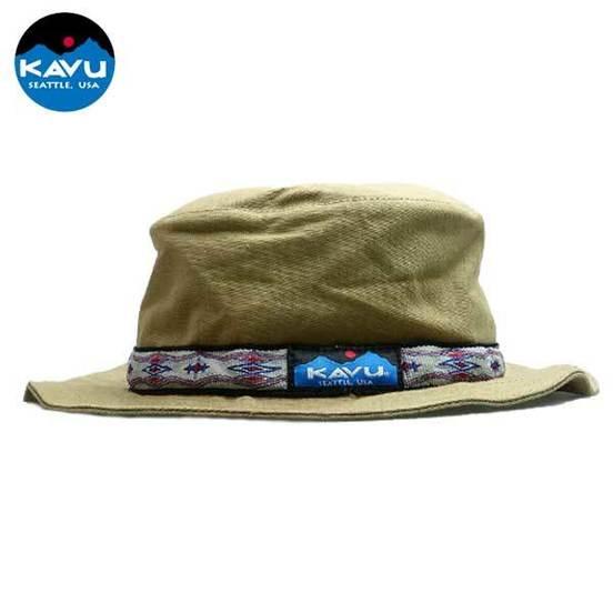 [카부] 스트랩버킷 모자 - Khaki