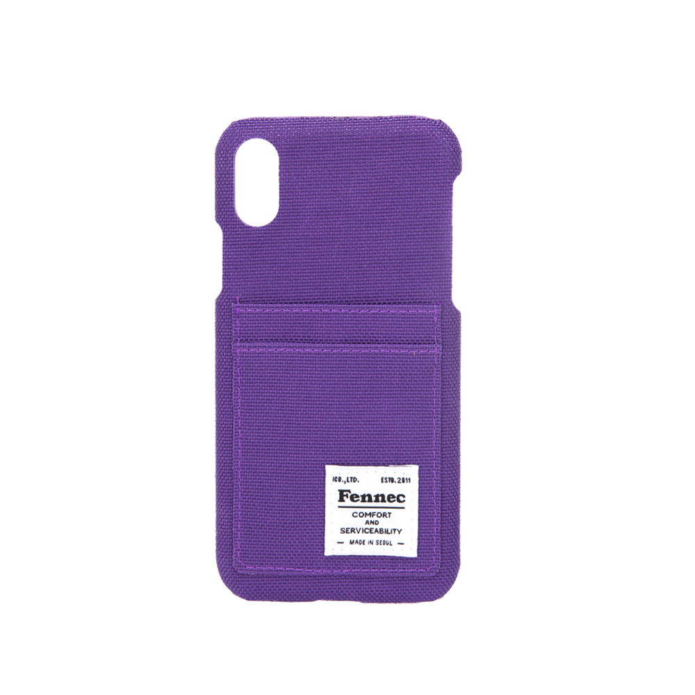 [페넥]FENNEC C&S iPHONE X CASE - PURPLE 아이폰 케이스