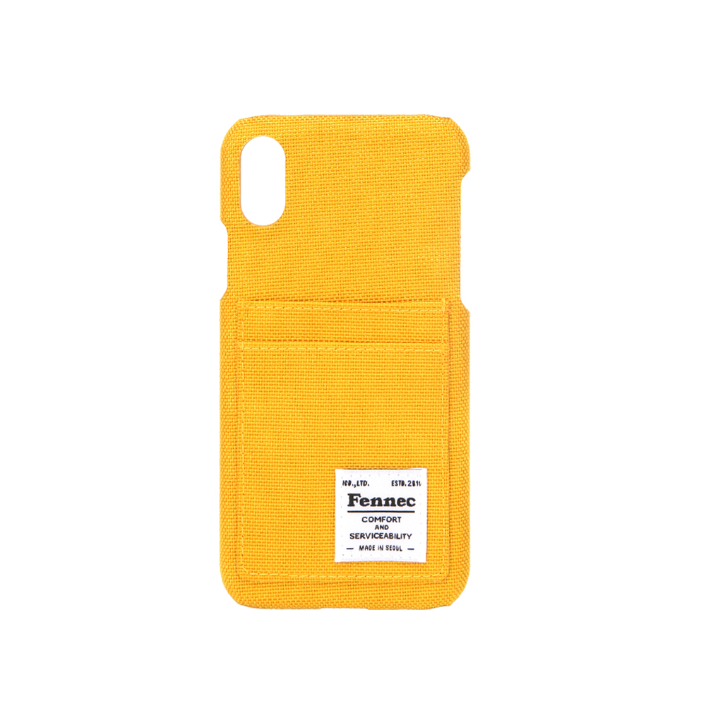 [페넥]FENNEC C&S iPHONE X CASE - YELLOW 아이폰 케이스