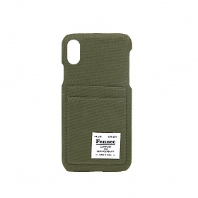 [페넥]FENNEC C&S iPHONE X CASE - KHAKI 아이폰 케이스