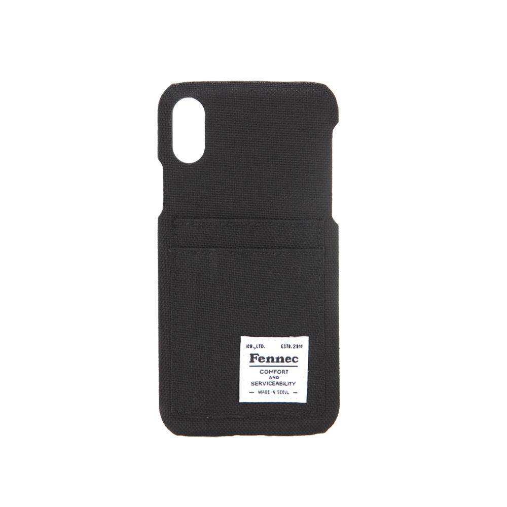 [페넥]FENNEC C&S iPHONE X CASE - BLACK 아이폰 케이스