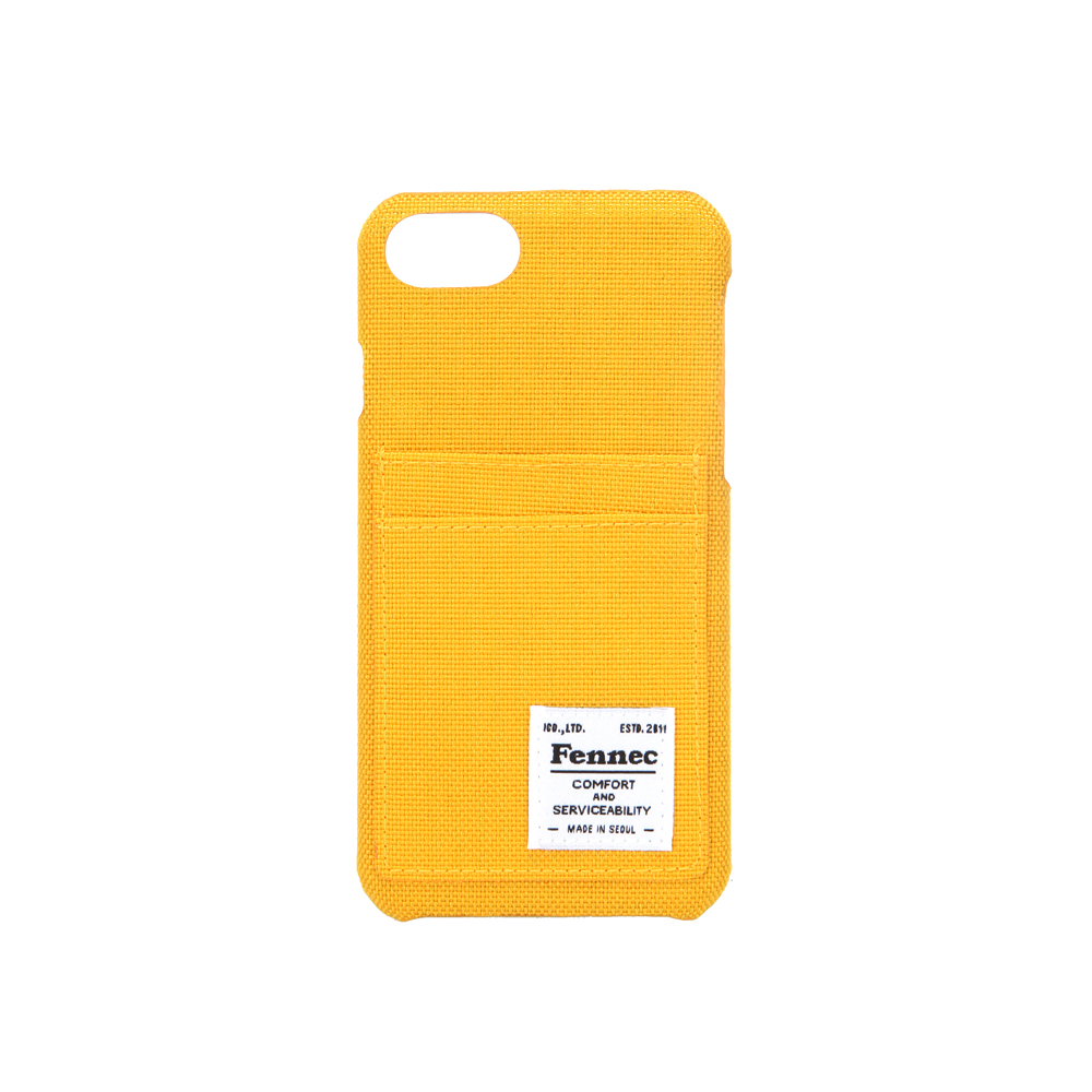 [페넥]FENNEC C&S iPHONE 7/8 CASE - YELLOW 아이폰 케이스