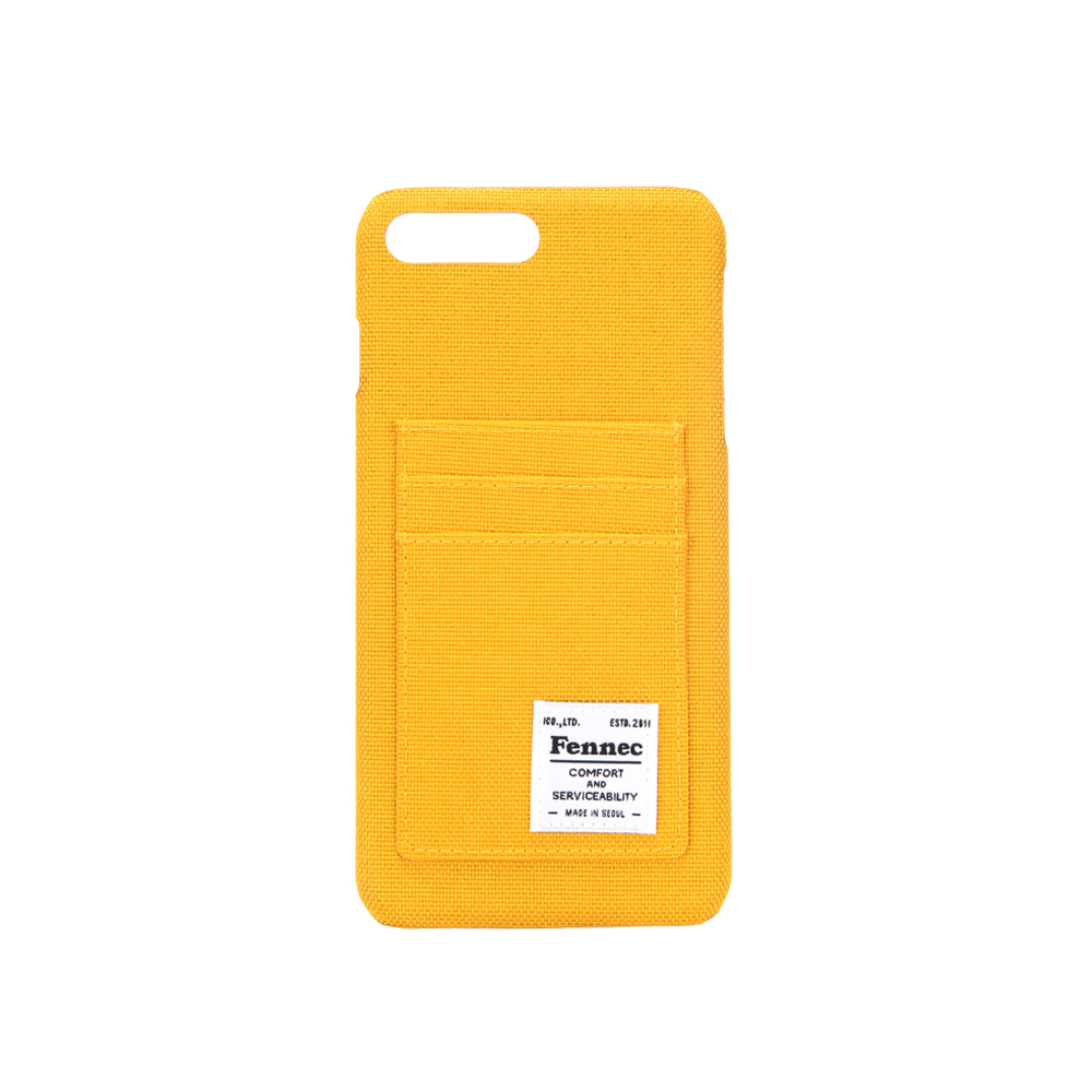 [페넥]FENNEC C&S iPHONE 7+/8+ CASE - YELLOW 아이폰 케이스
