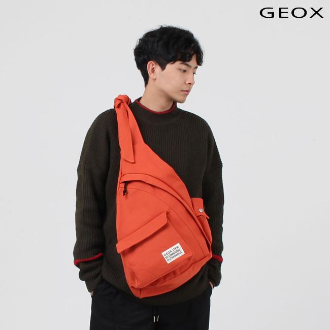 [제옥스]GEOX - HUG SLINGBAG DARKORANGE 허그슬링백 다크오렌지