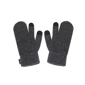 [페넥] FENNEC KNIT TIMI GLOVES - CHARCOL 벙어리 장갑
