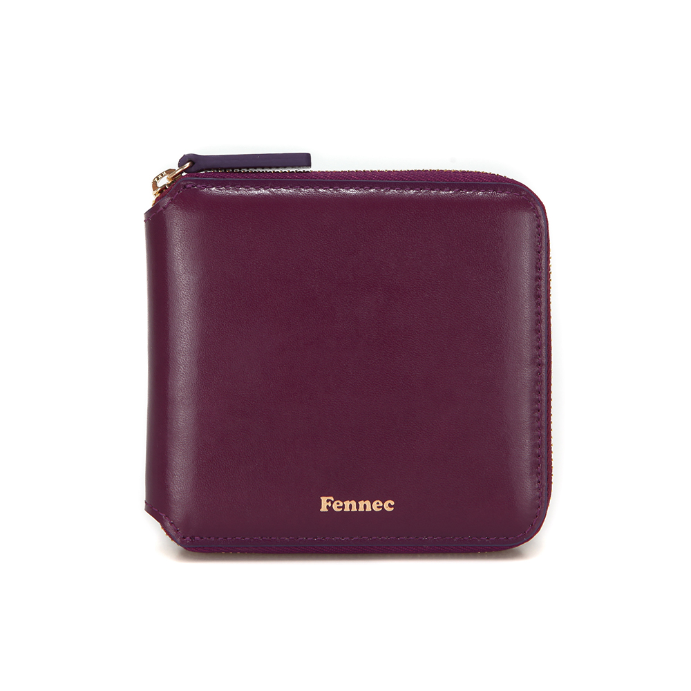 [페넥] FENNEC ZIPPER WALLET - PLUM PURPLE 지퍼지갑 월렛