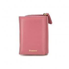 [페넥] FENNEC Triple Pocket 013 Rose Pink 반지갑