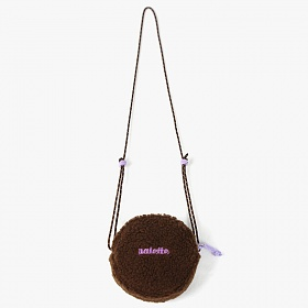 [피스메이커]PICECE MAKER -FLEECE CIRCLE BAG (BROWN)