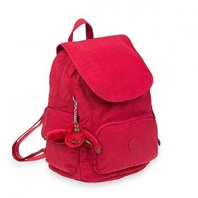 [키플링]KIPLING - CITY PACK S Small Backpack Radiant Red C 시티팩 스몰 백팩