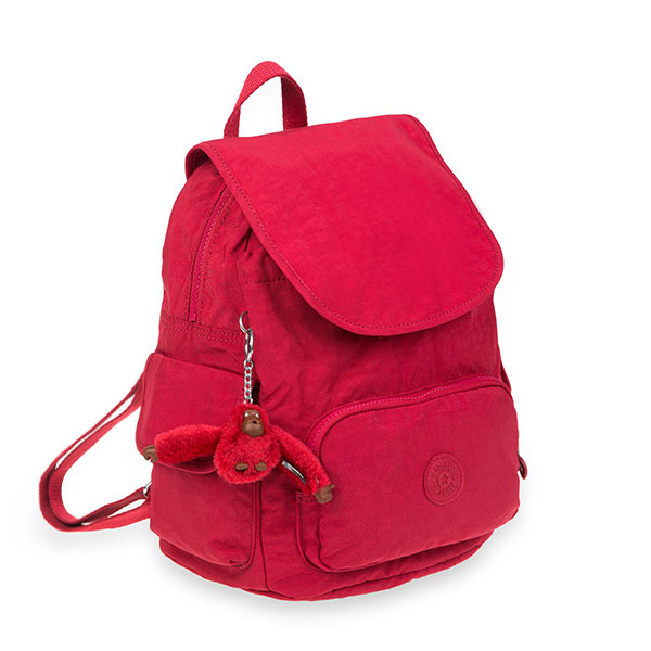 [키플링]KIPLING - CITY PACK S Small Backpack Radiant Red C 시티팩 스몰 백팩
