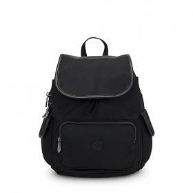 [키플링]KIPLING - CITY PACK S Small Backpack Rich Black 시티팩 스몰 백팩