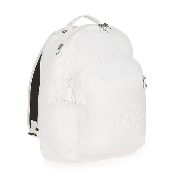[키플링]KIPLING - CLAS SEOUL Large backpack Lively White 백팩