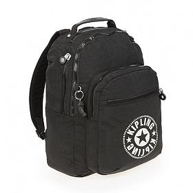 [키플링]KIPLING - CLAS SEOUL Large backpack Lively Black 백팩