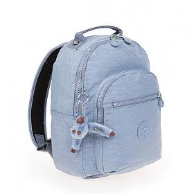 [키플링]KIPLING - CLAS SEOUL S Small Backpack Timid Blue C 클라스서울 스몰 백팩