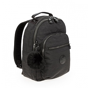 [키플링]KIPLING - CLAS SEOUL S Small Backpack True Dazz Black 클라스서울 스몰 백팩