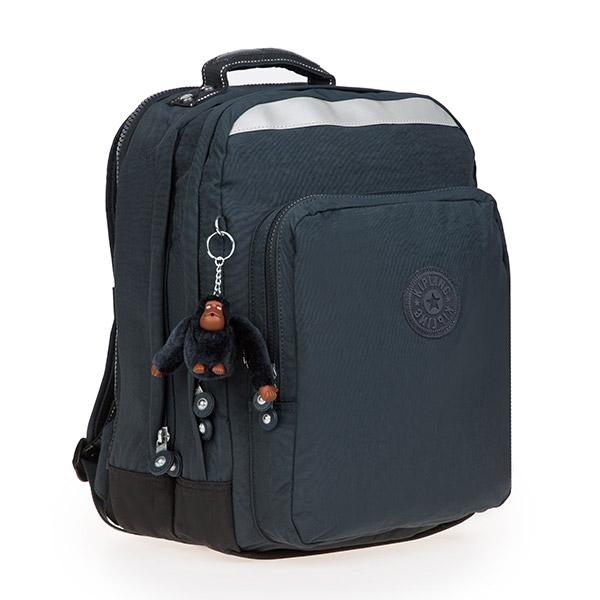 [키플링]KIPLING - COLLEGE UP Large backpack True Navy 백팩
