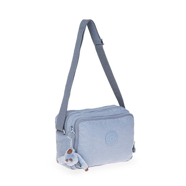 [키플링]KIPLING - SILEN Small shoulderbag Timid Blue C 사일런 크로스백